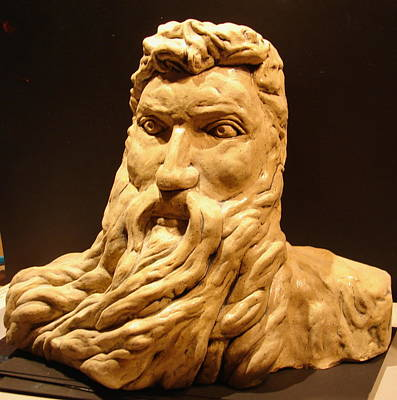Moses Michelangelo  Print by Joseph Hawkins