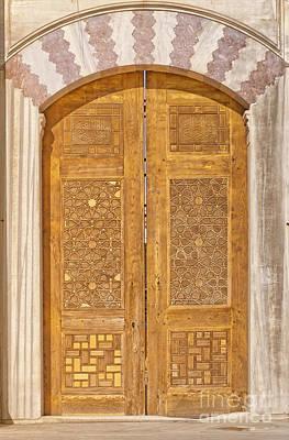 Suleimans Photograph - Mosque Doors 02 by Antony McAulay