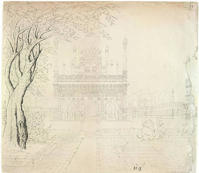 Religious Art Photograph - Mosque Of Sidi Masud Khan by British Library