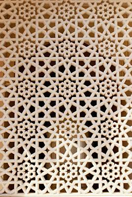 Perforated Photograph - Mosque Screen by Mark Williamson