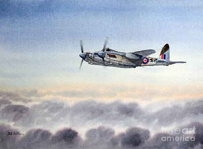 Robertson Painting - Mosquito Aircraft by Bill Holkham