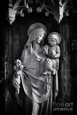 Christian Sacred Photograph - Mother And Child by Tim Gainey