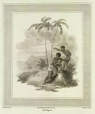 Mother And Infant Print by British Library