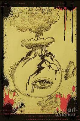Mother Earths Final Sigh Print by John Malone