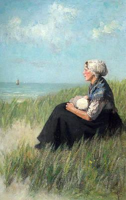 Adolf Digital Art - Mother In The Dunes by David Adolf Constant Artz