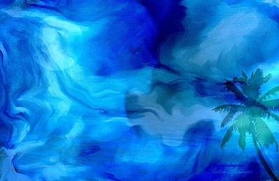 Universe Painting - Mother Moon Of The Universe by Sherri  Of Palm Springs