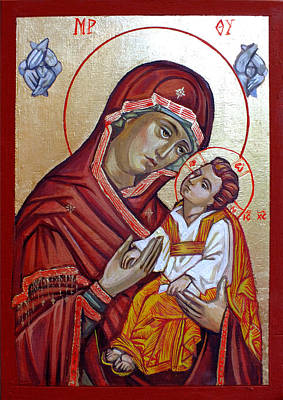 Orthodox Painting - Mother Of God by Filip Mihail