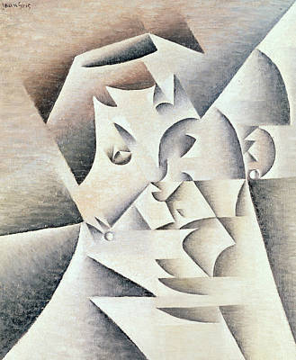 Mother Of The Artist Print by Juan Gris