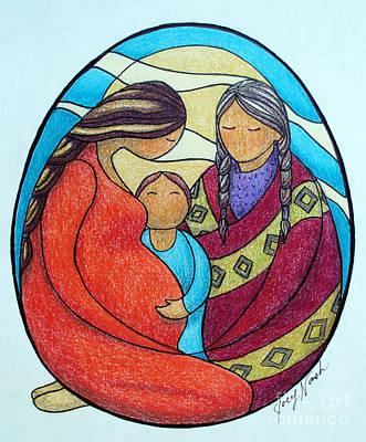 Motherhood Print by Joey Nash