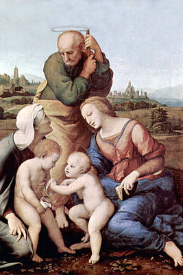 Holy Family Photograph - Motherhood by Munir Alawi