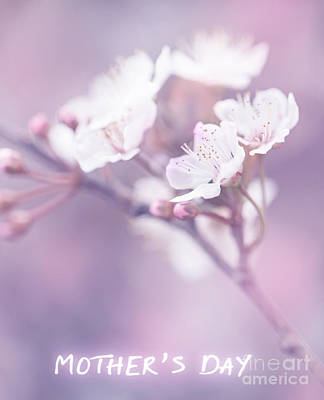 Mother's Day Greeting Card Print by Anna Om