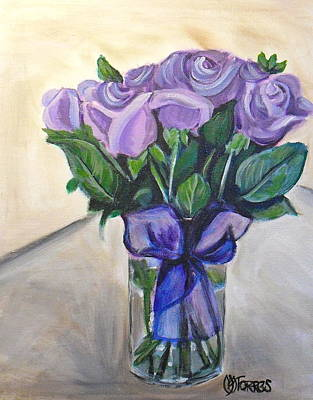 Mother's Day Roses Print by Melissa Torres