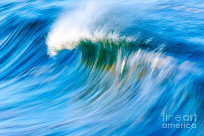 Surfing Photograph - Motion Captured by Paul Topp