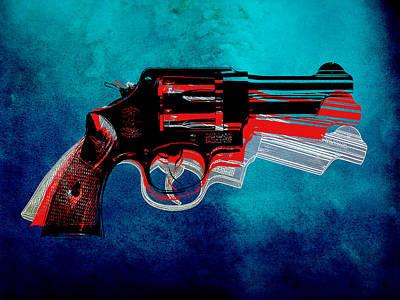 Motion Gun Print by Gary Grayson