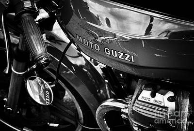 Cylinder Photograph - Moto Guzzi Le Mans  by Tim Gainey