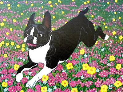 Painting - Moulty In The Meadow by Lori Ziemba