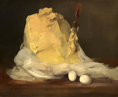 Mound Of Butter Print by Mountain Dreams