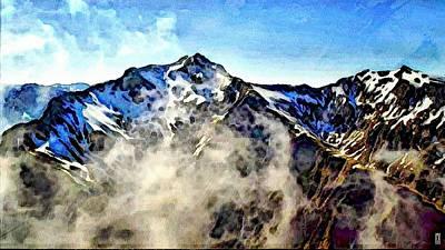 Manipulation Photograph - Mount Aoraki by Mario Carini