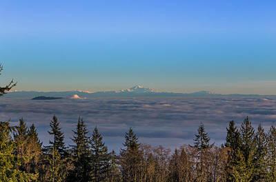 Mount Baker Inversion Original by Jenn Chan
