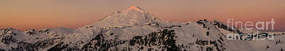 Heather Photograph - Mount Baker Majestic by Mike Reid