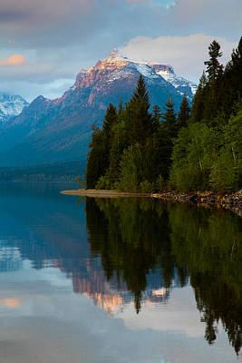 Glacier National Park Photograph - Mount Cannon by Aaron Aldrich