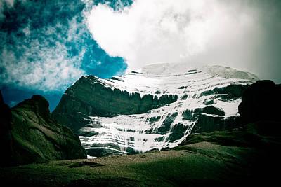 Tibetan Buddhism Photograph - Mount Kailash Western Slope Home Of The Lord Shiva by Raimond Klavins