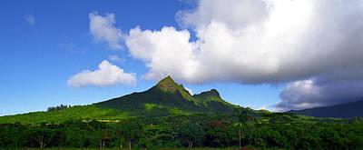 Mount Olomana Hawaii Print by Kevin Smith