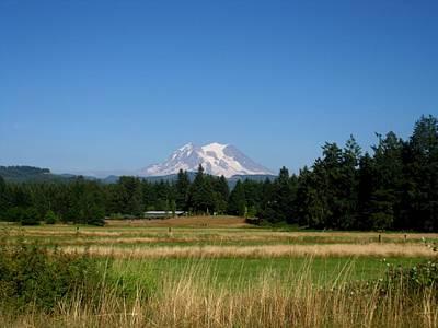 Mt. Massive Photograph - Mount Rainier 8 by Kathy Long