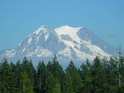 Mt. Massive Photograph - Mount Rainier by Kathy Long