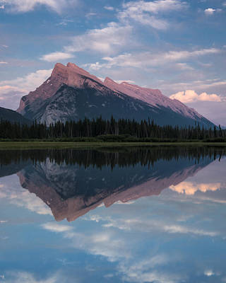 Mount Rundle - Banff National Park Print by Cale Best