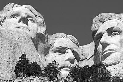 Mount Rushmore Print by Alex Cassels