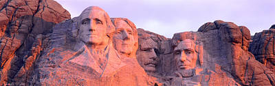 Mount Rushmore Photograph - Mount Rushmore, South Dakota, Usa by Panoramic Images