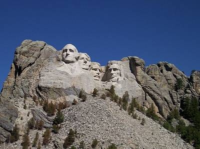 By Thomas Woolworth Photograph - Mount Rushmore by Thomas Woolworth
