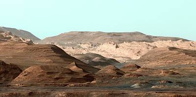 Hematite Photograph - Mount Sharp by Nasa/jpl-caltech/msss