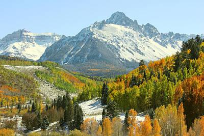 Mt. Massive Photograph - Mount Sneffels In Ridgway Colorado by Brett Pfister