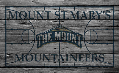 Mount St Marys Mountaineers Print by Joe Hamilton