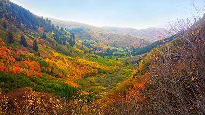 Mount Timpanogos Vally Utah  Original by Edward Pollick