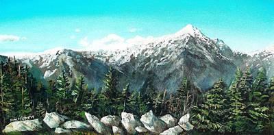 Forestry Painting - Mount Washington by Shana Rowe Jackson