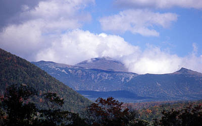 Of Nature Photograph - Mount Washington by Skip Willits