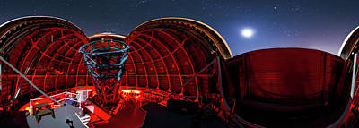 Moonlit Night Photograph - Mount Wilson Observatory by Babak Tafreshi