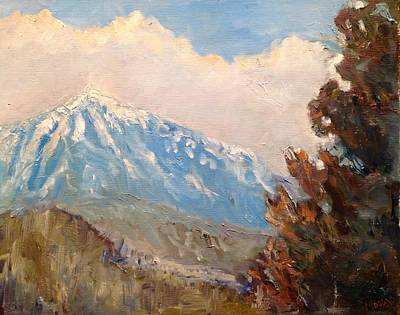 Painting - Mountain by Brent Moody