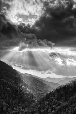 Mountain Drama Print by Andrew Soundarajan