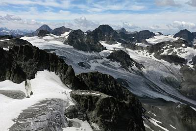 Mountain Landscape Print by Martin Rietze