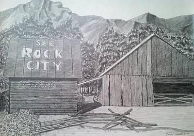 Mountain Memories Print by Tony Clark