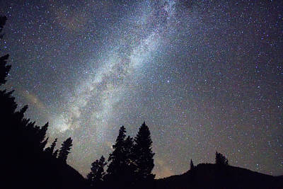 Corporate Art Photograph - Mountain Milky Way Stary Night View by James BO  Insogna