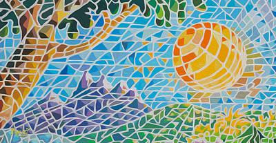 Mountain Of God Original by Anthony Mwangi