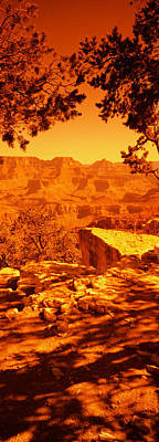 Mountain Range, Mather Point, South Print by Panoramic Images