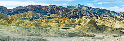 Mountain Range, Twenty Mule-team Print by Panoramic Images
