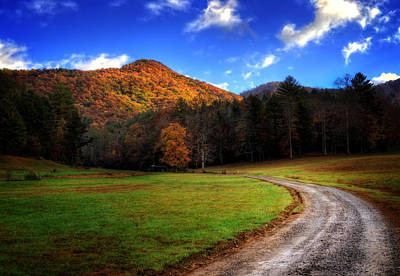 Western North Carolina Photograph - Mountain Road by Greg Mimbs