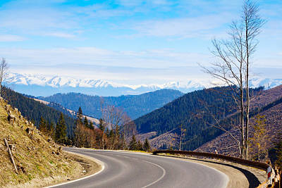 Mountain Road In A Valley, Tatra Print by Panoramic Images